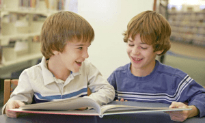 twins_studying